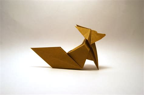 Papercraft Fox - origami fennec fox by orimin on deviantart