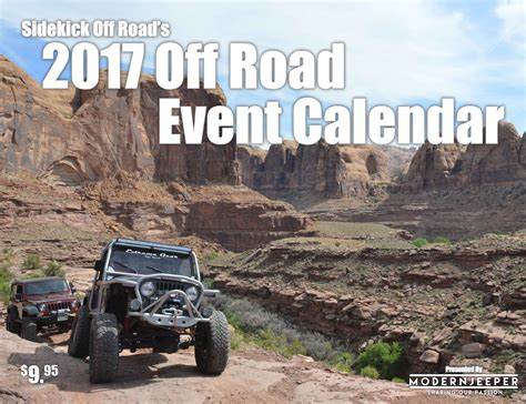 jeep calendar 2017 it s here the 2017 modernjeeper off road event calendar
