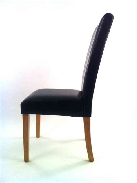 Furniture Dining Room Leather Dining Chairs For Fort Seat Black Dining Chairs For Sale