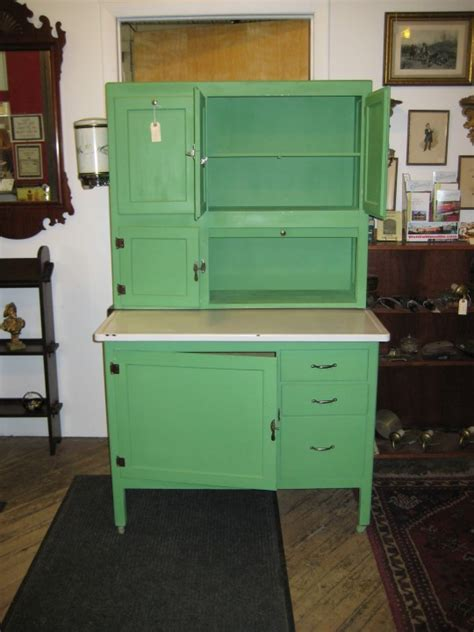 antique green kitchen cabinets go vintage with antique cabinet for chic kitchen homesfeed