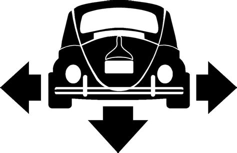 Volkswagen Classic Aufkleber by Vw Beetle Classic Down And Out Car Window Sticker Ebay