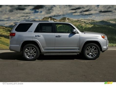 2012 Toyota 4runner Limited Classic Silver Metallic 2012 Toyota 4runner Limited 4x4