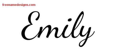 tattoo font emily emily name design6 jpg 450 215 200 name pinterest name