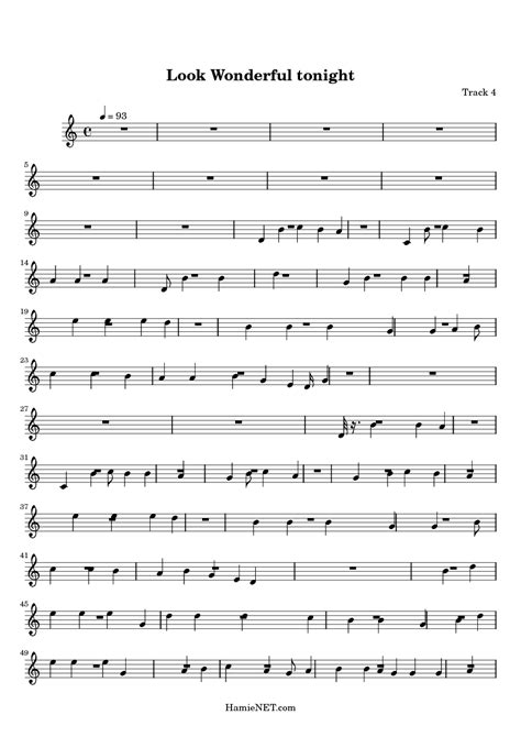 strumming pattern for you look wonderful tonight look wonderful tonight sheet music look wonderful