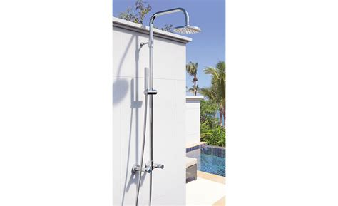 Stainless Steel Outdoor Shower by Stainless Steel Showers From Outdoor Shower Co 2015 06