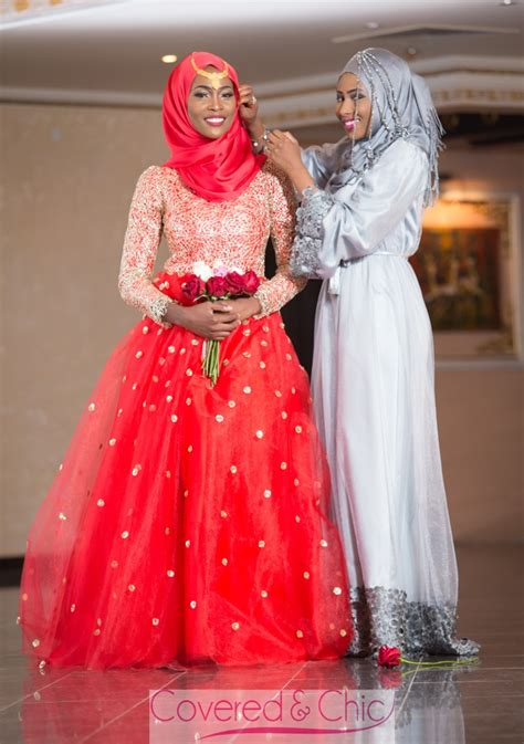 pictures of bridesmaidgown on bellanaija bn bridal muslim bridal dresses by covered chic