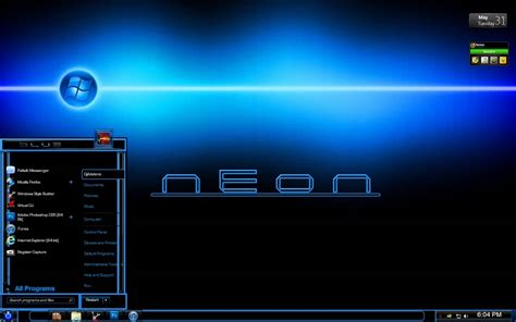 neon themes for windows 10 neon desktop theme windows 7 7 themeus costumize your