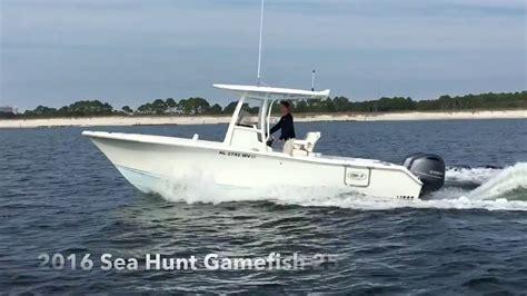 sea hunt gamefish 25 boats for sale 2016 sea hunt 25 gamefish boat for sale at marinemax