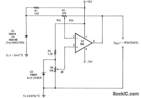 1n4148 diode schematic 1n4148 diode temperature coefficient 28 images forum diagram simple temperature sensing