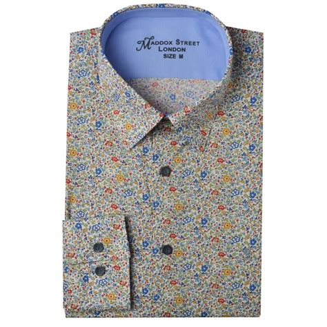 Print Shirt maddox liberty print shirts m36mw01 the shirt store