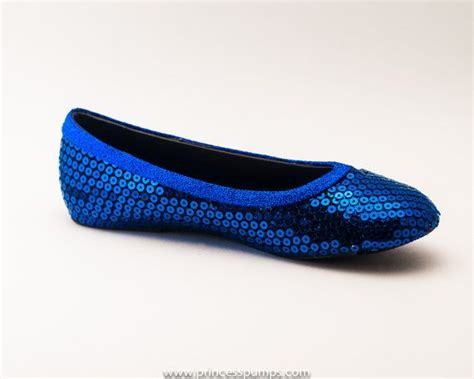 royal blue flats shoes royal blue sequin ballet flats shoes
