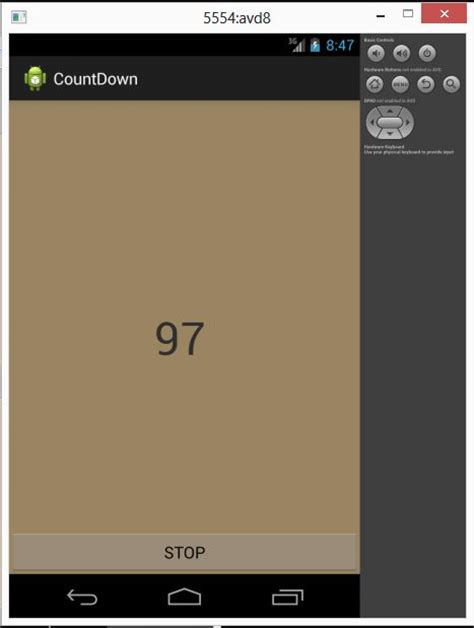android countdown timer learn about countdowntimer in android using android studio