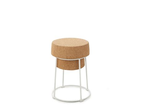 Cork Stool by Bouchon Low Stool By Domitalia Design Andrea Radice