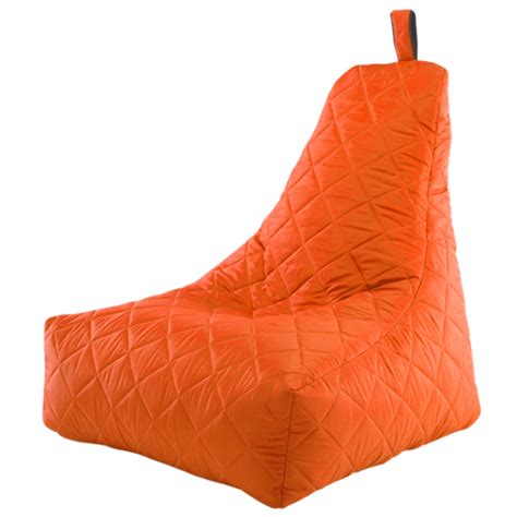 water resistant bean bag chairs orange black bean bag chair quilted recliner water
