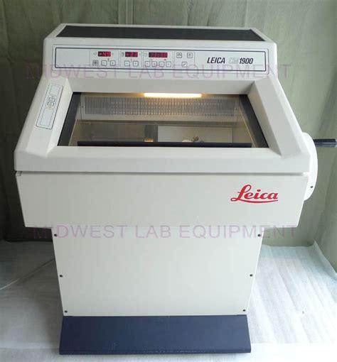 cryostat sectioning leica cm1900 cryostat