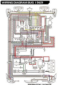 vw beetle wiring diagram articles  beetlecom beetle volkswagen vw beetles