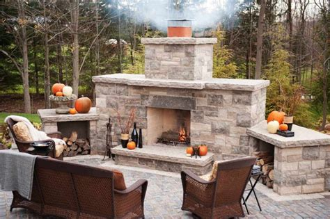 Wood Fireplace Kit by Diy Outdoor Fireplace Kits Fireplace Diy