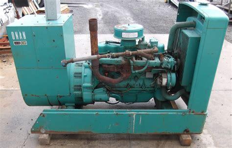 onan 45 kw gas generator 1 183 hrs ebay