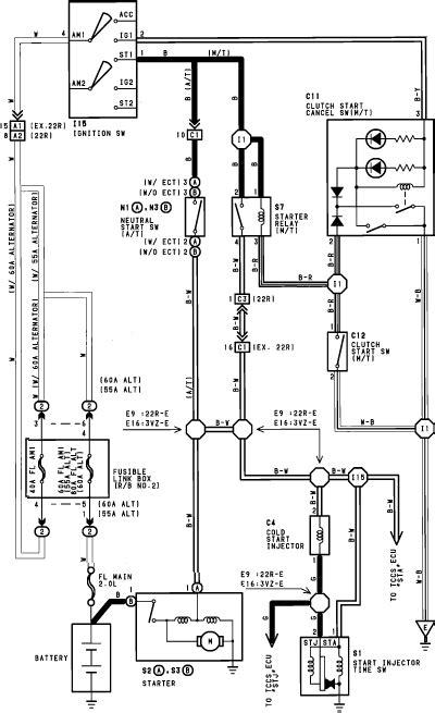 1990 toyota wiring diagram efcaviation