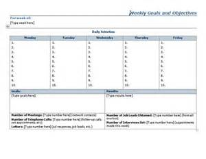 Goals Planner Template Goals And Objectives Template Sheet Planner Template