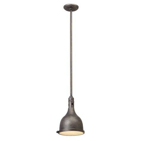 Aged Pewter Light Fixtures Troy Lighting Telegraph Hill 1 Light Aged Pewter Outdoor Pendant F3865 The Home Depot