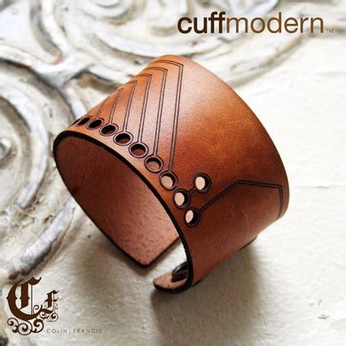 from cuts to cuffs books substrate laser cut leather cuff bracelet 171 adafruit