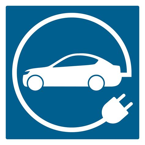 Electric Car Charging Symbol Thermmark Markings