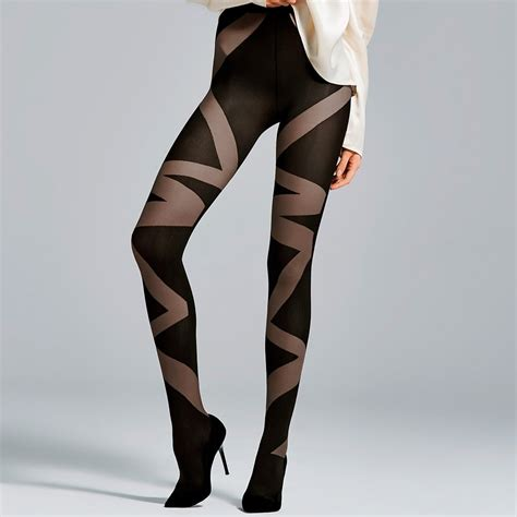 patterned microfiber tights fiore liberte patterned 3d microfiber pantyhose