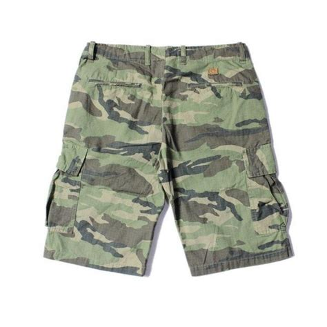camo shorts unyforme quot camo six pocket quot cargo shorts green