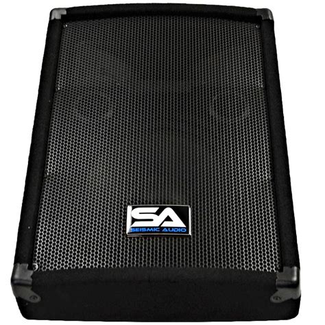 100 floors stage 45 seismic audio pair 10 quot pa floor stage speaker monitor cabs