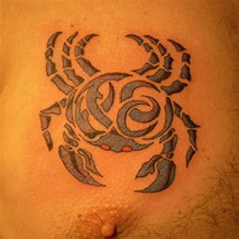 tribal crab tattoo tribal crab sle