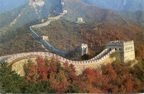 Great Wall Of China Mutianyu Section by Mutianyu The Great Wall Of China Remembering Letters