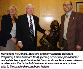 One Year Mba Philadelphia by One Year Mba Students Gain Insights From Mba Alumnus Frank