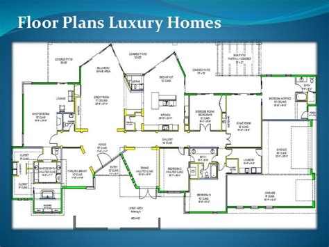 Floor Plans For Luxury Homes by Floor Plans Luxury Homes