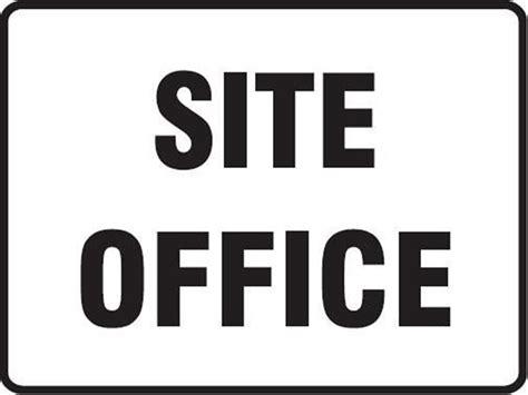 Office Site Site Office Metal Aluminium Sign 300x200 Office Sign Ebay