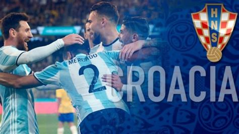 argentina croacia podr 225 verse en pantalla gigante info