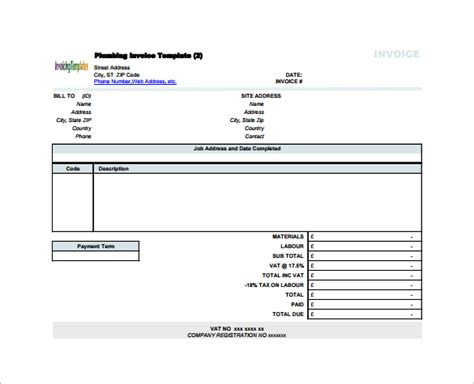 receipt template for labor 16 contractor receipt templates doc excel pdf free