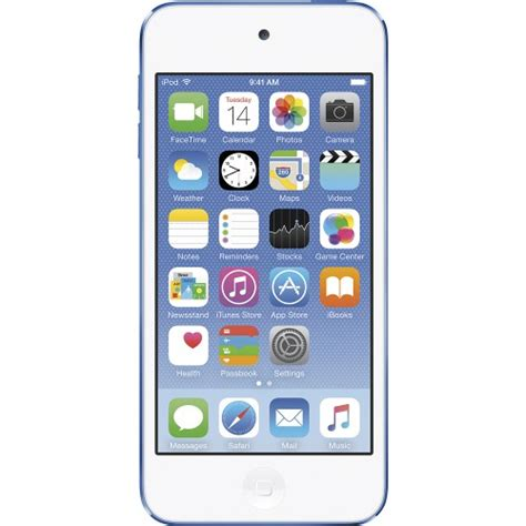 Ipod Touch 6th 16gb apple ipod touch 6th generation 16gb blue mkh22ll a vip outlet
