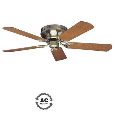 Ceiling Fan Mounting Options by Craftmade Pfc52ab Antique Brass Custom Blade Options 5
