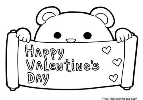 happy valentines day printable printable happy valentines day coloring pages februar