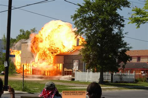 House Explosion by 04 20 2008 Shoot 12 Rounds House Explosion Fireline Photos