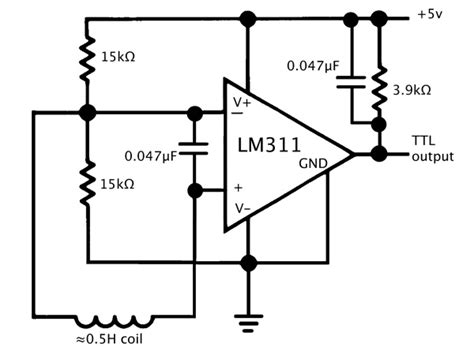 pull up resistor lm311 speed of sound lab writeup gas station without pumps