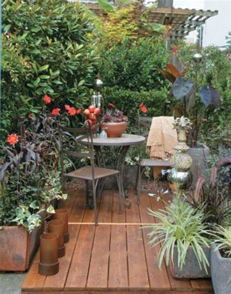 Small Patio Garden Design Ideas Magnificent Small Garden Patio Design Ideas Patio Design