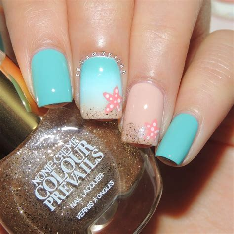 good nail color for the beach drawn nail beach pencil and in color drawn nail beach