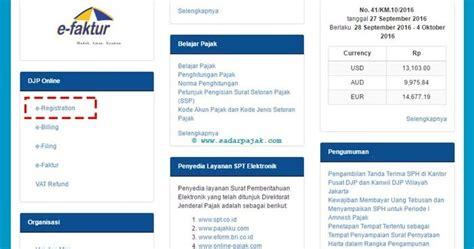 panduan membuat npwp online cara daftar npwp secara online sadar pajak