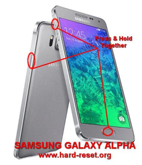 Reset Samsung Alpha | how to easily master format samsung galaxy alpha sm g850f