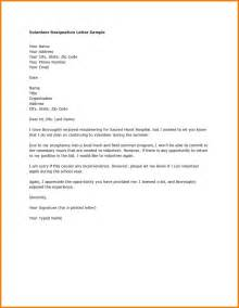 How To Resign Letter by Sle Two Week Notice Letter
