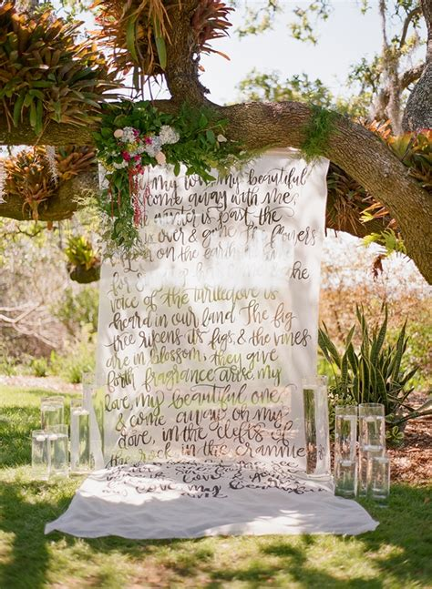 Wedding Backdrop Garden by Florida Vintage Garden Wedding Inspiration Grace