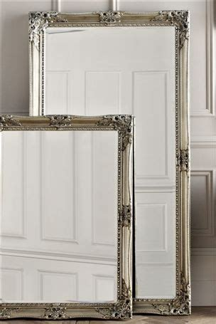 pewter floor standing mirror next for my home pinterest