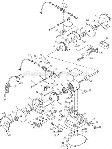 bench grinder wiring diagram bench grinder diagram besides black and decker bench
